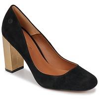Sko Dame Højhælede sko Betty London JIFOLU Sort / Guld
