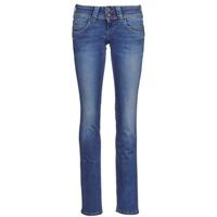 textil Dame Lige jeans Pepe jeans VENUS Blå / MEDIUM