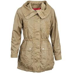 textil Dame Trenchcoats Tommy Hilfiger JANINE Beige
