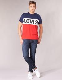 textil Herre Smalle jeans Levi's 511 SLIM FIT Zebroid / Adapt