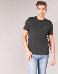 textil Herre T-shirts m. korte ærmer Levi's SS ORIGINAL HM TEE Sort