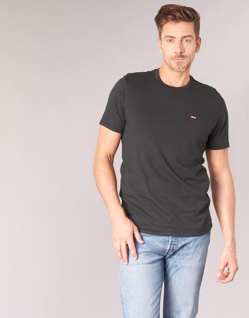 Levi's Ss Original Hm Tee Sort - Gratis Fragt- Textil T-shirts M. Korte Ærmer Herre 189
