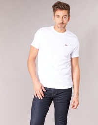 textil Herre T-shirts m. korte ærmer Levi's SS ORIGINAL HM TEE Hvid