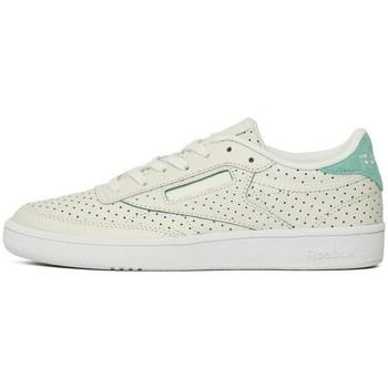 Sko Dame Lave sneakers Reebok Sport Club C Popped Perf Hvid
