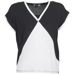 textil Dame T-shirts m. korte ærmer Nikita NEWSON Sort / Hvid