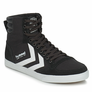 Sko Høje sneakers Hummel TEN STAR HIGH CANVAS Sort / Hvid