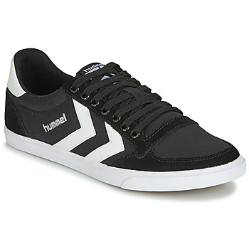 Sko Høje sneakers Hummel TEN STAR LOW CANVAS Sort / Hvid