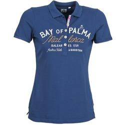 textil Dame Polo-t-shirts m. korte ærmer Gaastra MISTY Blå