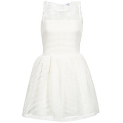 textil Dame Korte kjoler Brigitte Bardot AGNES Hvid