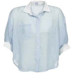 textil Dame Skjorter / Skjortebluser Brigitte Bardot AMARANTE Blå / Hvid