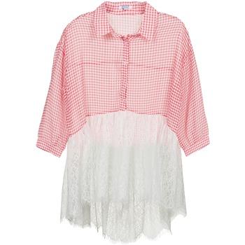 textil Dame Skjorter / Skjortebluser Brigitte Bardot AMBRE Rød / Hvid
