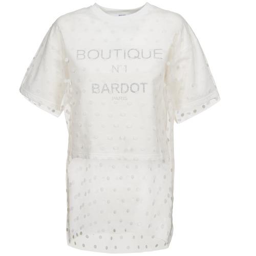 textil Dame Sweatshirts Brigitte Bardot ANASTASIE Beige