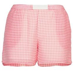 textil Dame Shorts Brigitte Bardot ANNE Rød / Hvid