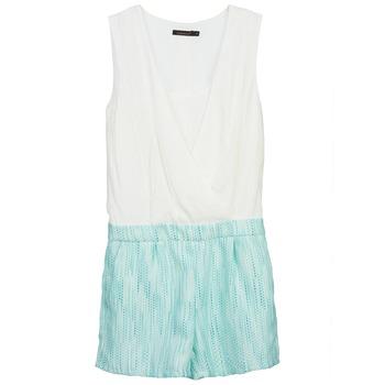 textil Dame Buksedragter / Overalls Color Block ALIX Blå