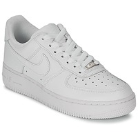 Lave sneakers Nike AIR FORCE 1 07 LEATHER W