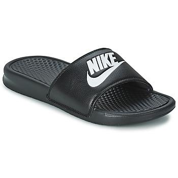 Sko Herre Lave sneakers Nike BENASSI JUST DO IT Sort