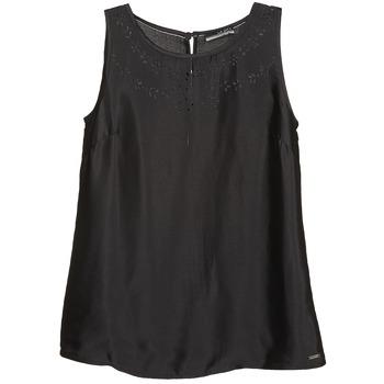 textil Dame Toppe / T-shirts uden ærmer La City LUCRETIA Sort