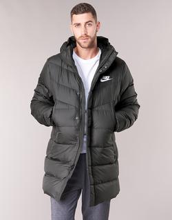 textil Herre Dynejakker Nike BRENLA Sort