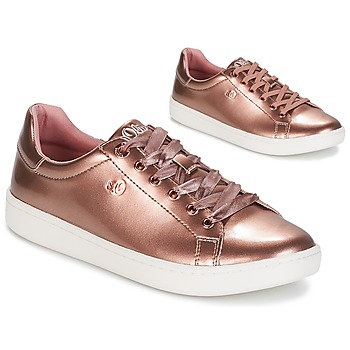 Sko Dame Lave sneakers S.Oliver  Pink / Guld