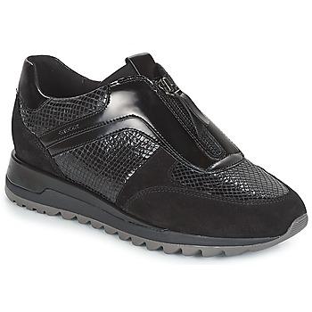 Sko Dame Lave sneakers Geox D TABELYA Sort