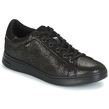 Sko Dame Lave sneakers Geox D JAYSEN Grå / Sort