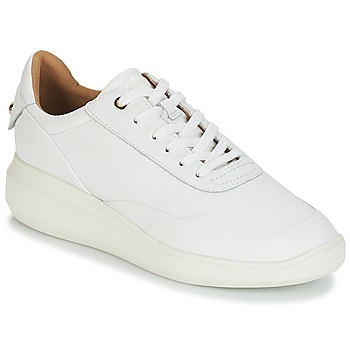 Sko Dame Lave sneakers Geox D RUBIDIA Hvid