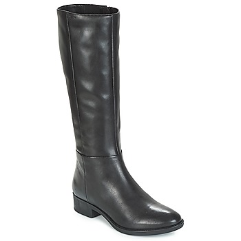 Sko Dame Chikke støvler Geox D FELICITY Sort