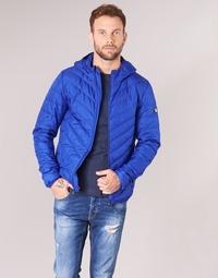 textil Herre Dynejakker Emporio Armani EA7 TRAIN CORE SHIELD 8NPB09 Blå / Electric