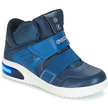 Sko Dreng Lave sneakers Geox J XLED BOY Marineblå