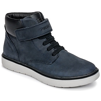 Sko Dreng Høje sneakers Geox J RIDDOCK BOY WPF Marineblå