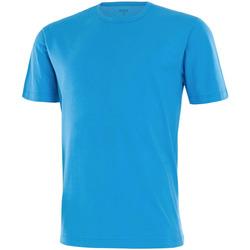textil Herre T-shirts m. korte ærmer Impetus 7304E62 C83 Blå