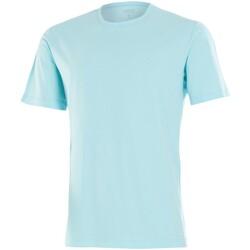 textil Herre T-shirts m. korte ærmer Impetus 7304E62 E67 Blå