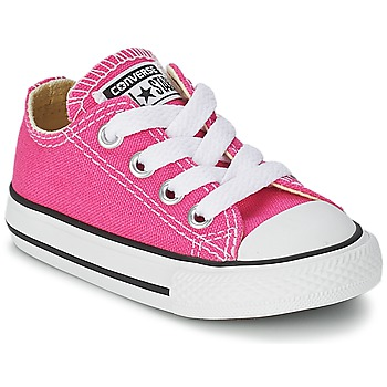 Sko Pige Lave sneakers Converse Chuck Taylor All Star SEASON OX Pink
