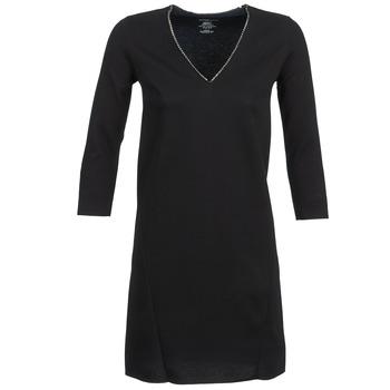 textil Dame Korte kjoler Majestic BRUNEHILDE Sort