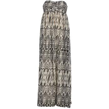 textil Dame Lange kjoler Le Temps des Cerises GOTA Grå / Hvid
