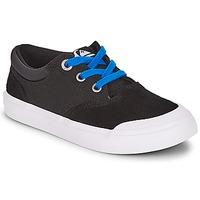 Sko Dreng Lave sneakers Quiksilver VERANT YOUTH Sort