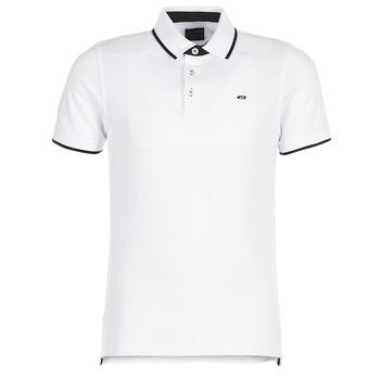 textil Herre Polo-t-shirts m. korte ærmer Jack & Jones JJEPAULOS Hvid