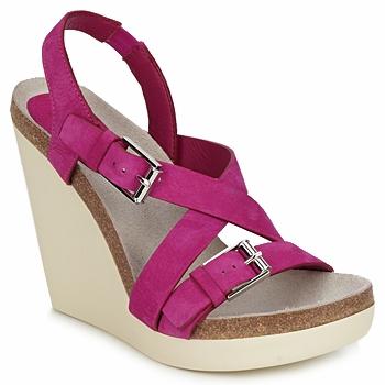 Sko Dame Sandaler Jil Sander JS16295 Pink
