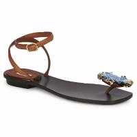 Sko Dame Sandaler Marc Jacobs MJ16131 Brun / Blå