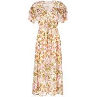 textil Dame Lange kjoler Derhy ALEXANDRIN Beige