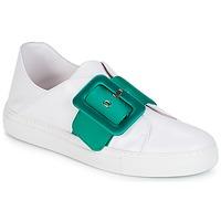 Sko Dame Lave sneakers Minna Parikka ROYAL Emerald-white