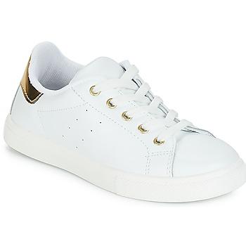 Sko Pige Lave sneakers André TAMARA Hvid