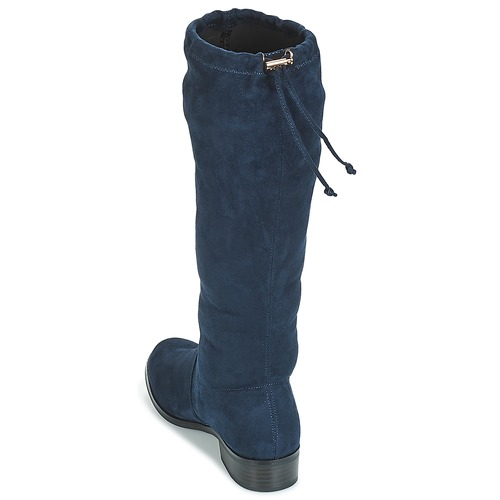 ANAIS  André  chikke støvler  dame  marineblå 2YbzX