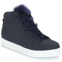 Sko Dame Høje sneakers André GOSPEL Marineblå