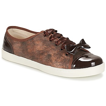 Sko Dame Lave sneakers André BOUTIQUE Brun