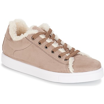 Sko Dame Lave sneakers André AWASSI Beige