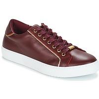 Sko Dame Lave sneakers André BERKELITA Bordeaux