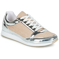 Sko Dame Lave sneakers André SAFARI Sølv