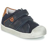 Sko Dreng Lave sneakers André TOBOGGAN Marineblå