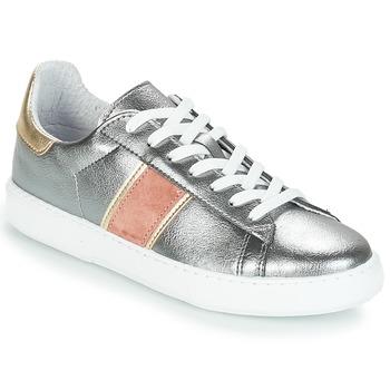 Sko Dame Lave sneakers André FRISBEE Sølv